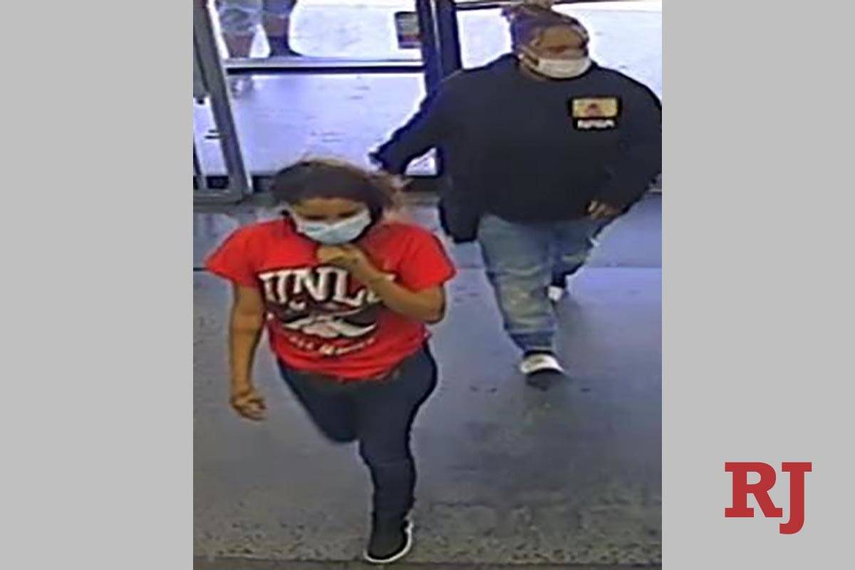 Two of four suspects in a May 11, 2020, robbery at a business in the 3800 block of South Maryla ...