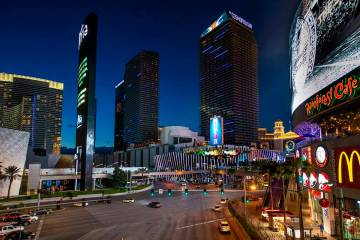Some Las Vegas casinos will begin reopening on June 4. (L.E. Baskow/Las Vegas Review-Journal) @ ...