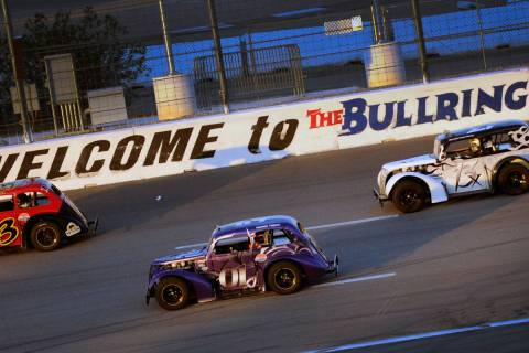 The Bullring racetrack at Las Vegas Motor Speedway on Tuesday, July 3, 2012. (David Becker/Las ...