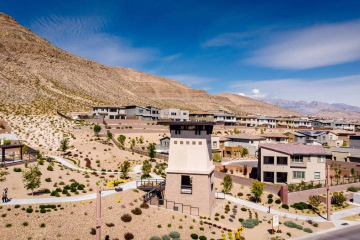 The Cliffs village in Summerlin is aptly named for its picturesque ridgeline that forms the vil ...