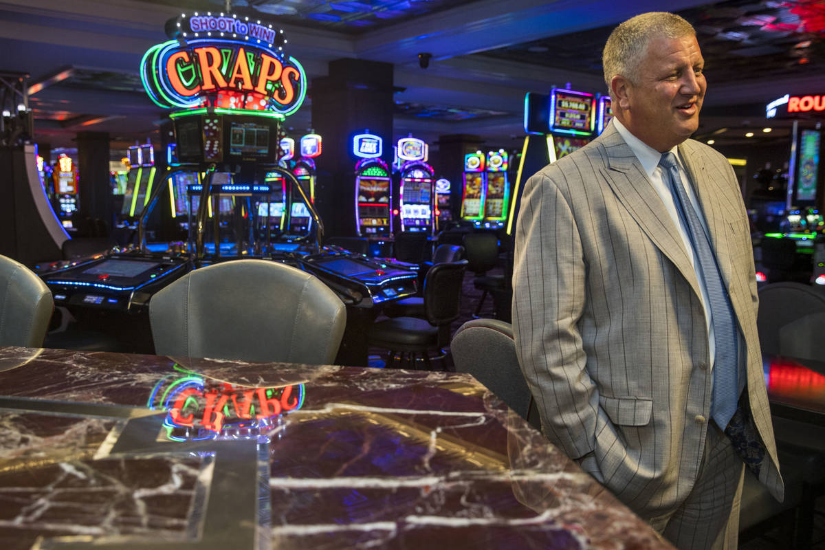 Owner Derek Stevens of the D Las Vegas talks about the changes being made as they prepare to op ...
