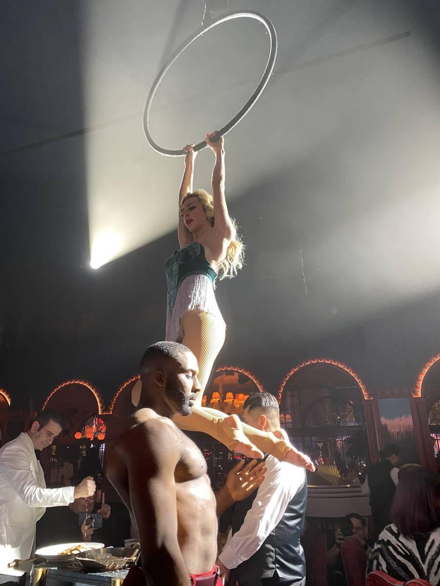Dancer Savannah Cross is shown at Mayfair Supper Club on Monday, Dec. 30, 2019. (John Katsilome ...