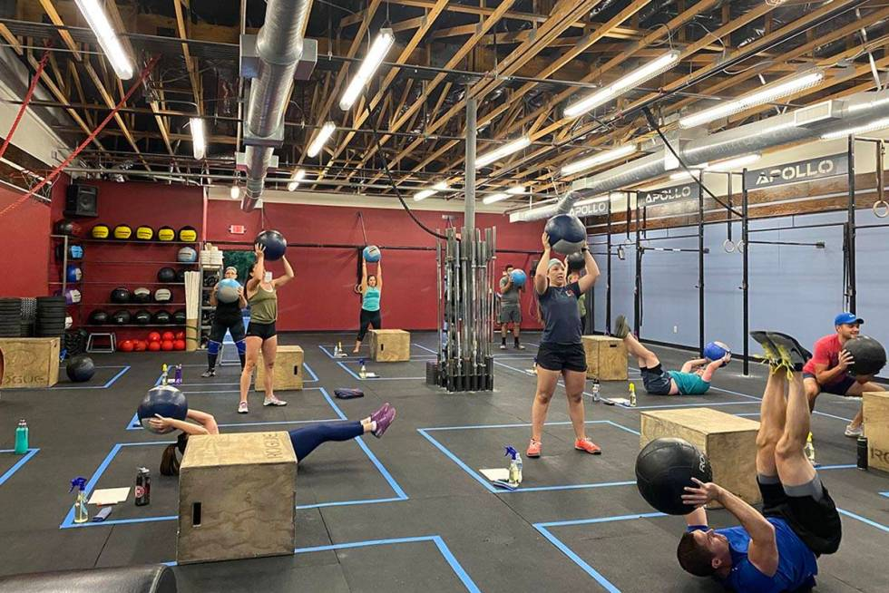 Attendees at CrossFit Apollo on North Buffalo Drive have been waiting more than two months to g ...