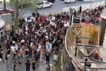 Protest on Strip begins after unarmed black man's death in Minnesota — LIVESTREAM