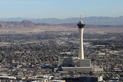 The forecast high is 106 for Las Vegas on Friday, May 29, 2020, according to the National Weath ...