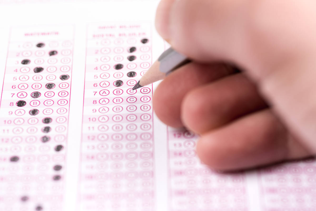 Thinkstock Nevada's ACT test scores included improved results in English, math and reading, t ...