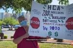 Nurses at Las Vegas hospital hold protest