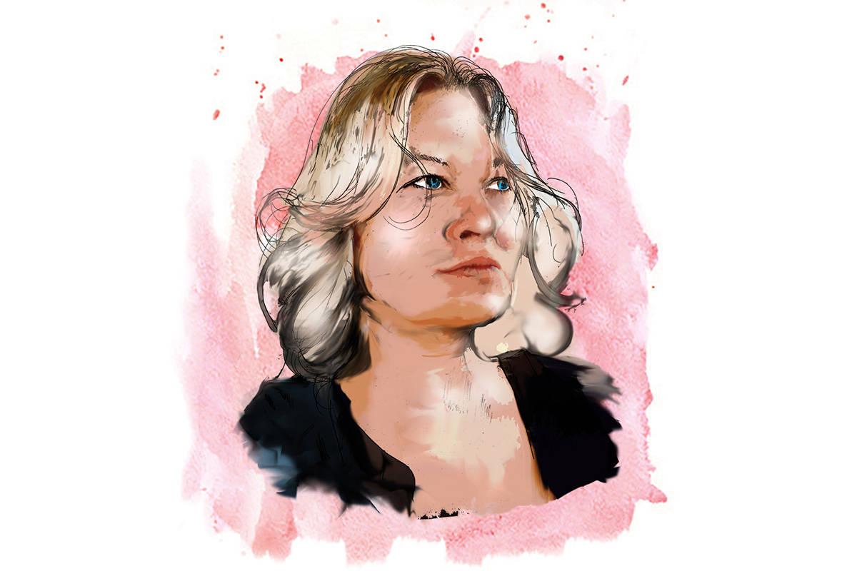 Kim Foster (Illustration by Severiano del Castillo Galvan)