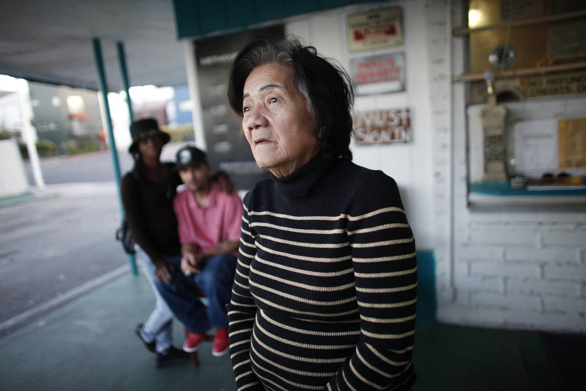 Wendy Yeh, former owner of the Safari Motel, was the only property owner in Las Vegas subject t ...