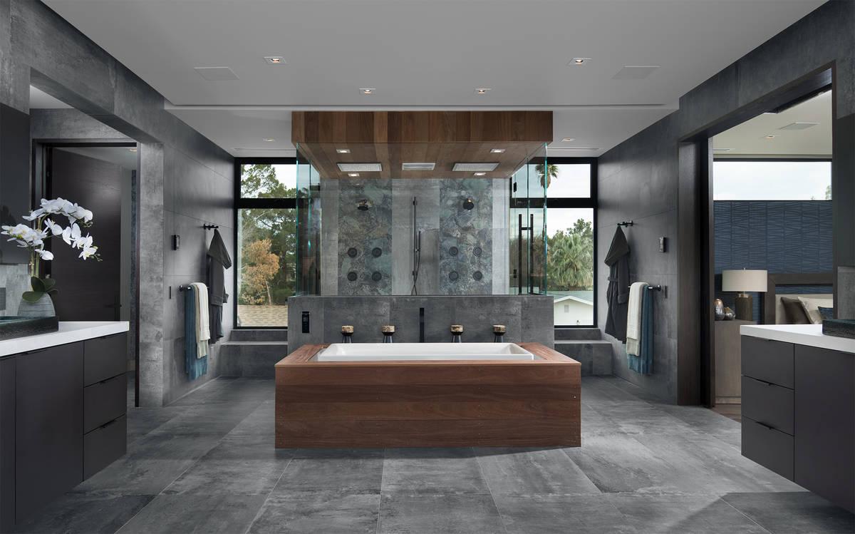 Las Vegas architect Michael Gardner designed the 2019 New American Remodel in downtown Las Vega ...