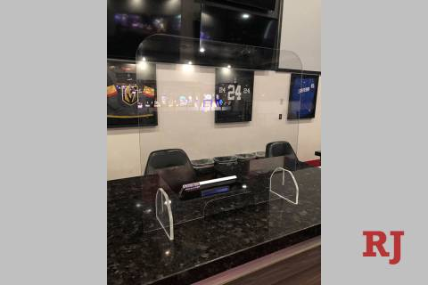 Plexiglass partitions will be placed between customers and ticket writers at William Hill and o ...