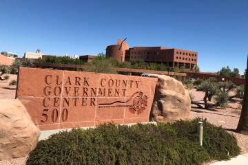 Clark County Government Center in Las Vegas (Las Vegas Review-Journal/File)