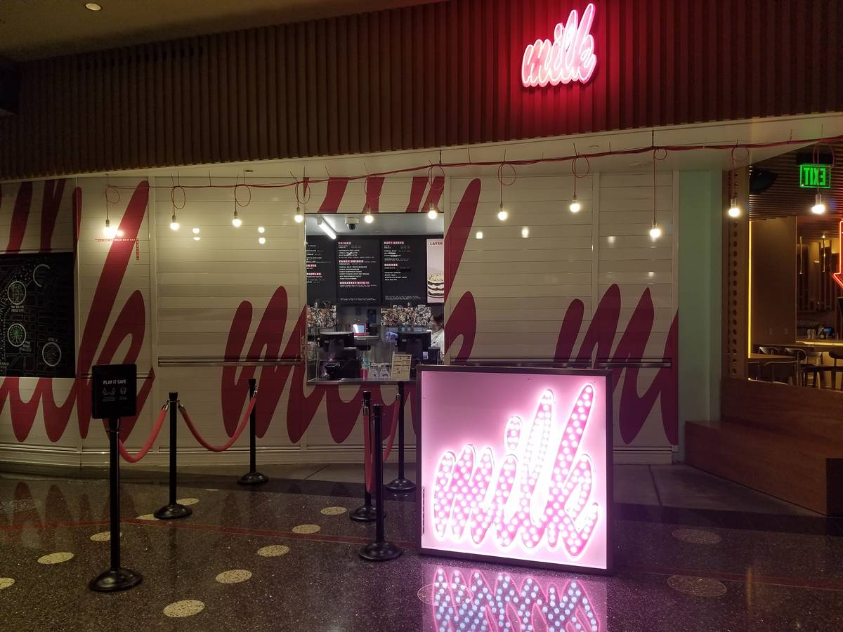 Business was slow at Milk Bar at The Cosmopolitan of Las Vegas at mid-afternoon on Thursday. ( ...