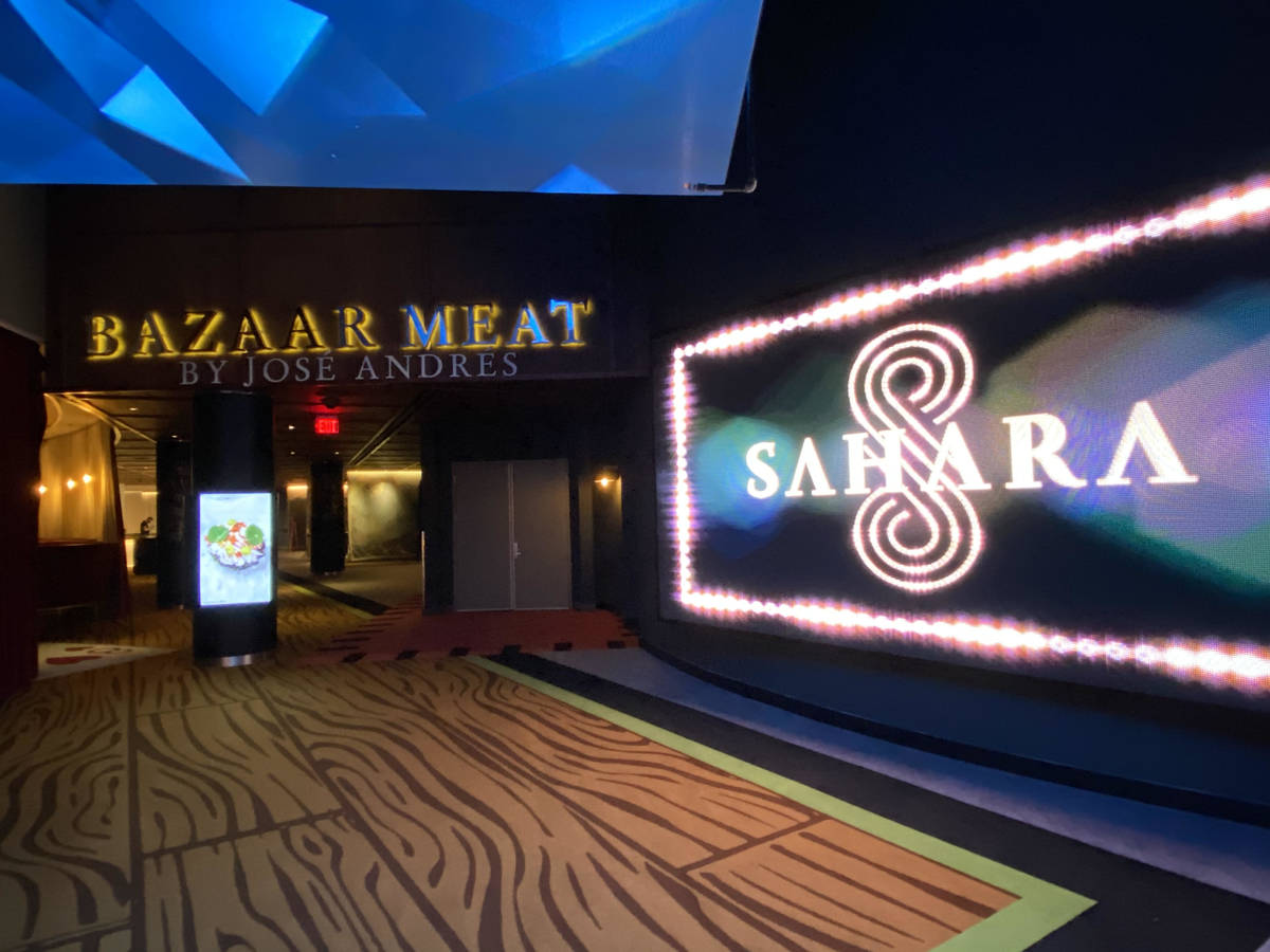 Bazaar Meat by Jose Andres at The Sahara. (Al Mancini)