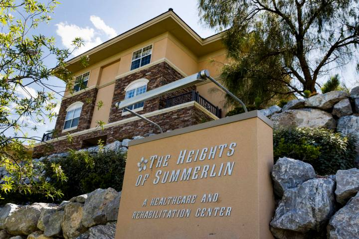 The Heights of Summerlin in Las Vegas has experienced one of the deadliest outbreaks of the cor ...