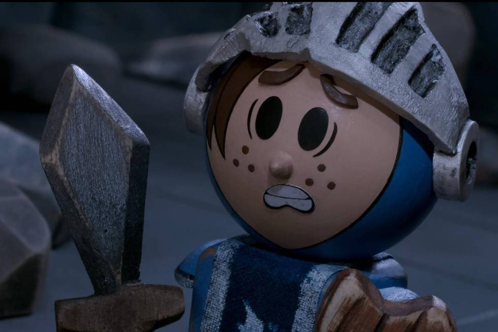 """Patrick (voiced by Nicholas Hoult) in """"Crossing Swords"""" (Sony)"""