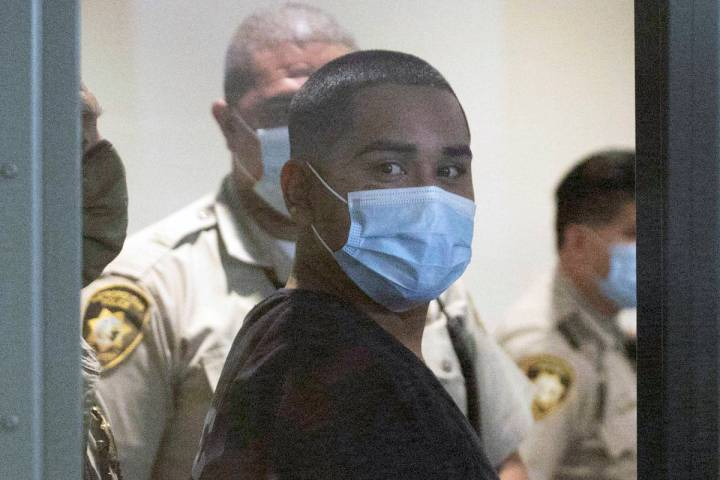 Edgar Samaniego, charged in the shooting of Metropolitan Police Department Officer Shay Mikalon ...