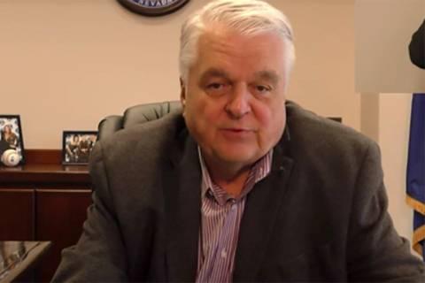 Gov. Steve Sisolak (Gov. Steve Sisolak YouTube screenshot)
