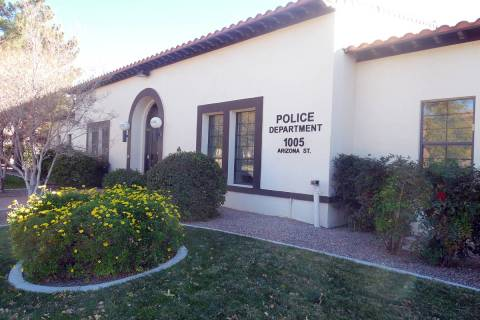 The Boulder City Police Department, 1005 Arizona St. (Las Vegas Review-Journal)