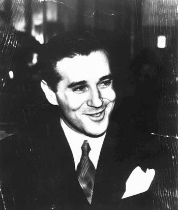 """Benjamin """"Bugsy"""" Siegel, who envisioned and operated The Flamingo hotel-casino is shown in this ..."""