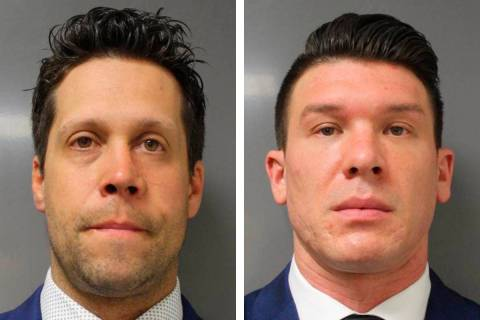 Aaron Torgalski, left, and Robert McCabe (Erie County District Attorney's Office via AP)
