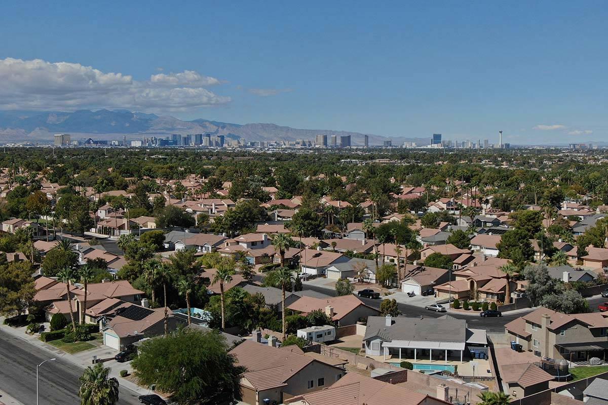 Las Vegas house sales dropped last month amid the pandemic-sparked economic shutdown, but price ...