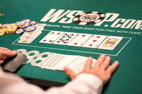 World Series of Poker at the Rio in Las Vegas, Monday, July 2, 2018. Richard Brian Las Vegas Re ...