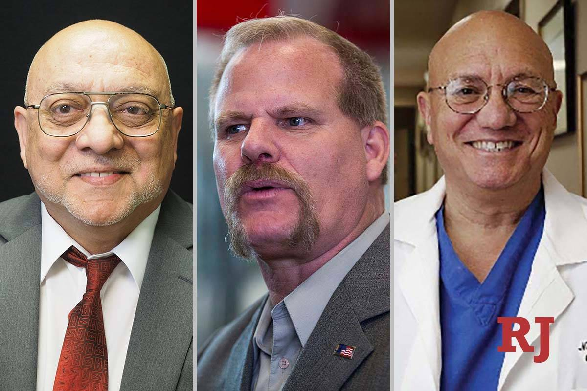 Candidates for Nevada System of Higher Education Board of Regents District 5 seat: Patrick Boyl ...