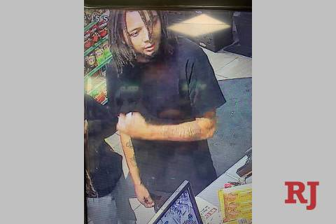 One suspect in the June 1 armed robbery near East Twain Avenue and University Center Drive is a ...