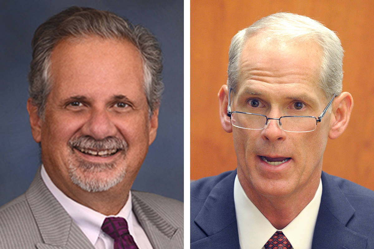 Ozzie Fumo, left and Douglas Herndon appear to be headed to the general election in November. ( ...