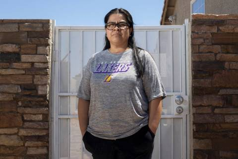 Daisy Maldonado is a North Las Vegas homeowner who recently received a default notice on her ho ...
