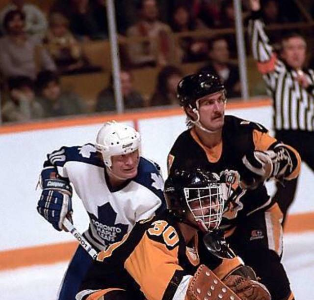 Rod Buskas, who lives in the Las Vegas area, played for the Pittsburgh Penguins from 1982 to 19 ...