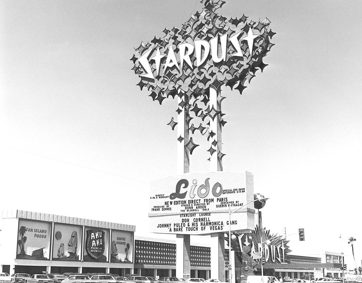 Stardust marquee 09/09/71