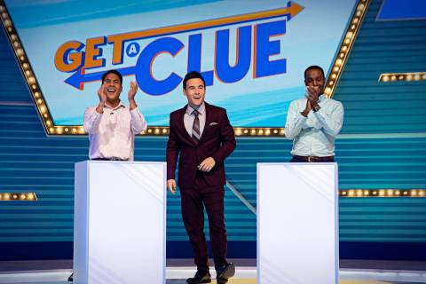 """Rob Belushi hosts """"Get a Clue,"""" which records its episodes at Caesars Entertainment Studios in ..."""