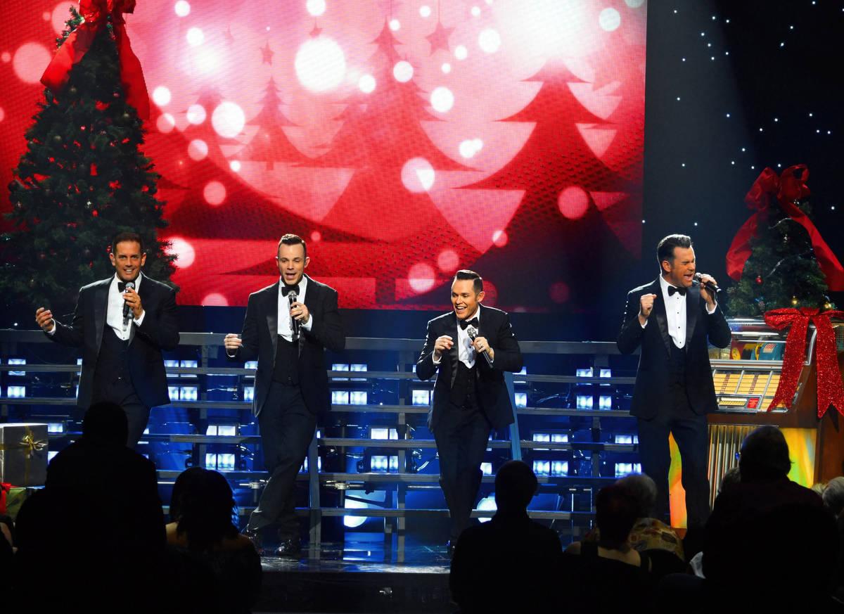 "Human Nature performs ""Rockin' Holiday Jukebox"" through Dec. 23 at Sands Showroom at the Veneti ..."