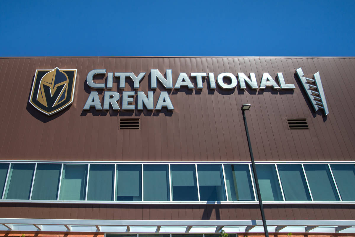 City National Arena on Thursday, Aug. 23, 2018, in Las Vegas. Benjamin Hager Las Vegas Review-J ...