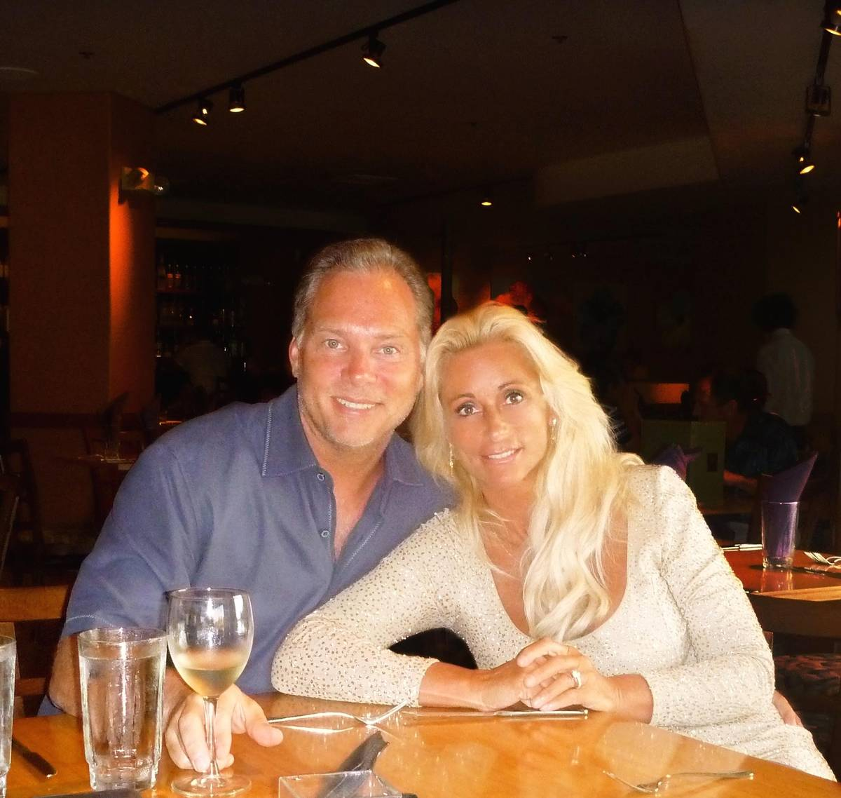 David and Brenee Wilkinson are part of a wave of new Las Vegas residents who have moved here fr ...