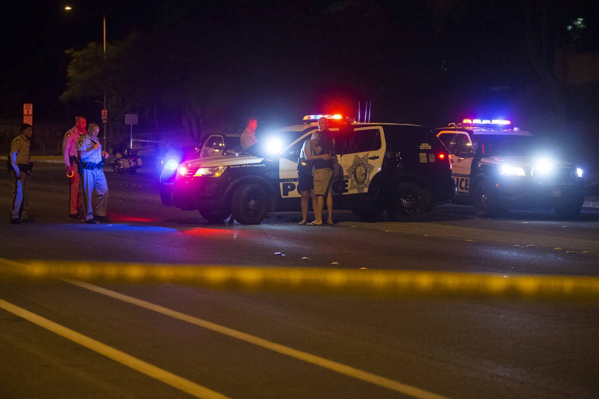Metropolitan Police Department Fatal Detail respond to a report of a collision between a vehicl ...
