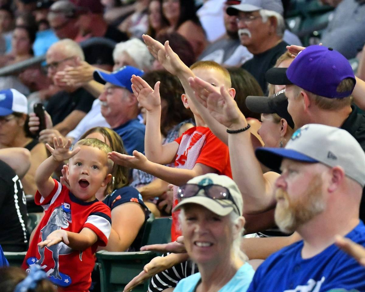 Lindquist Field, home of the Pioneer League's Ogden Raptors, is a magnet for baseball fans of a ...