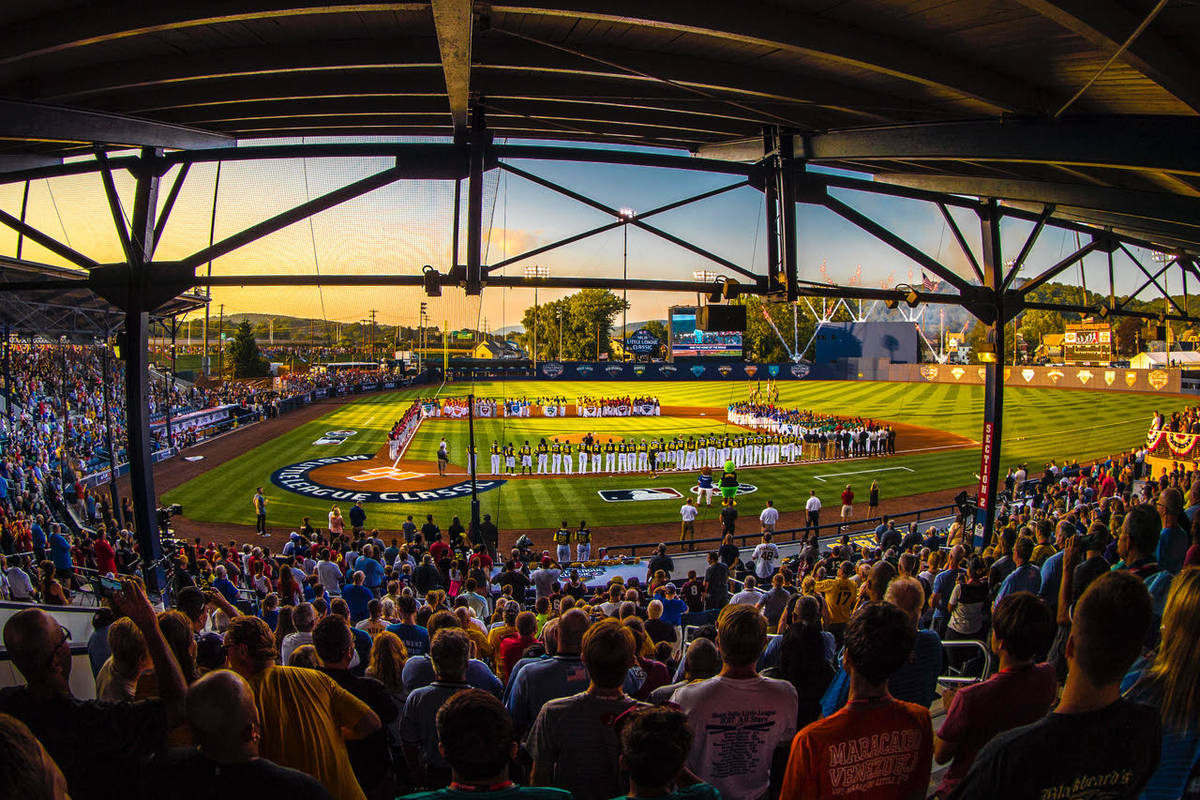 BB&T Ballpark, home of the Williamsport Crosscutters of the New York-Penn league, serves as hos ...