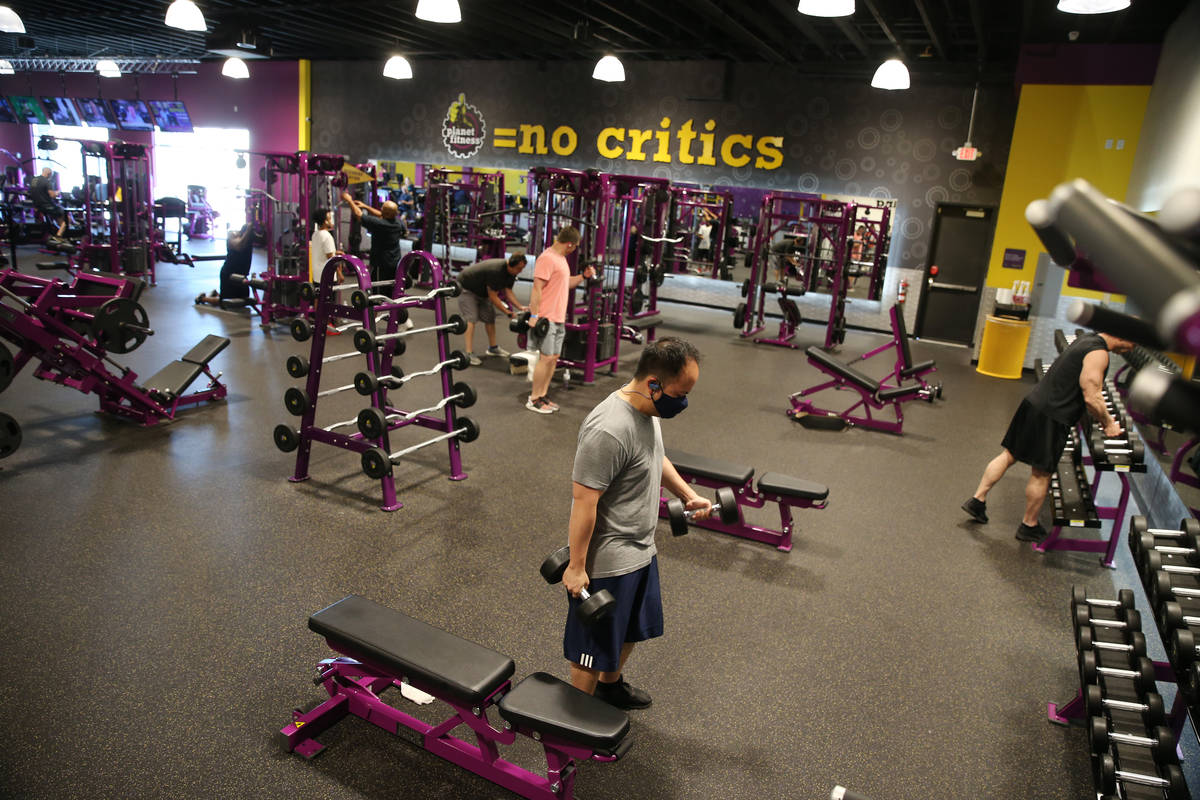 Las Vegas Gyms Reopen With Restrictions Video Las Vegas Review Journal