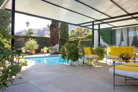 Arthur Elrod was the most successful interior design in the Palm Springs area from 1954 to 1974 ...