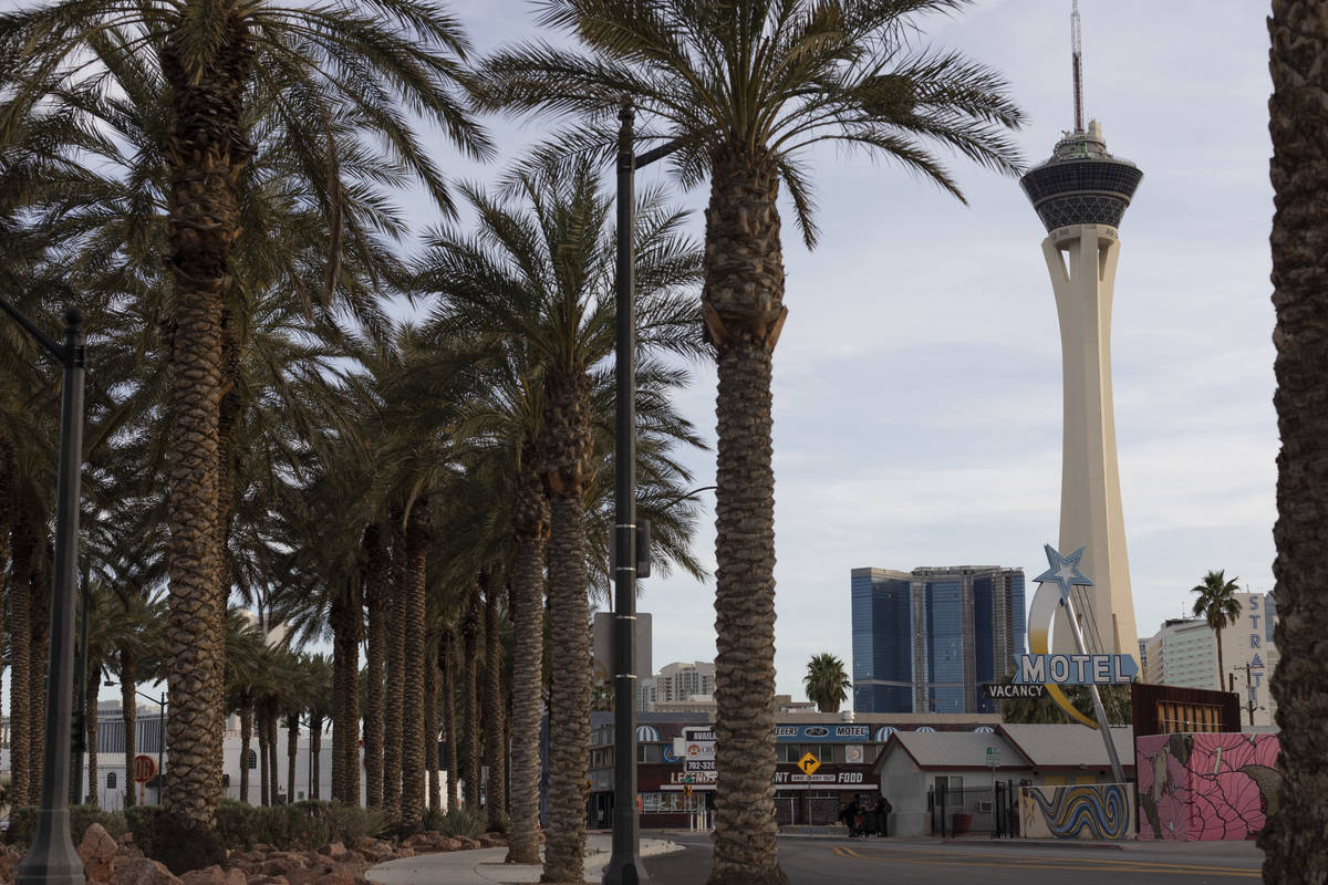 The Las Vegas high temperature is expected to be about 94 on Wednesday, June 17, 2020, accordin ...