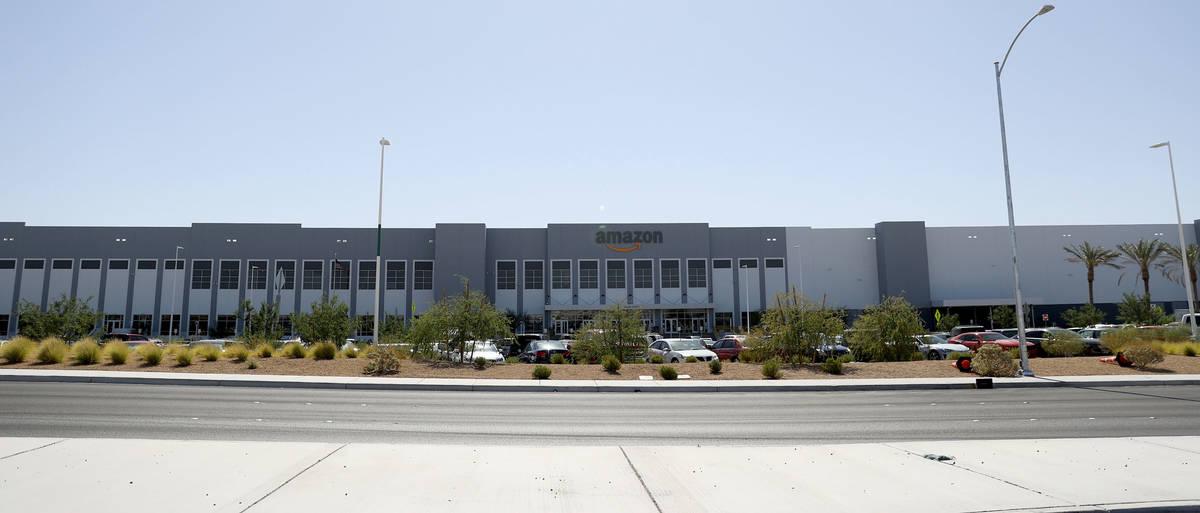 North Las Vegas Amazon Building Sold For 110m Las Vegas Review Journal