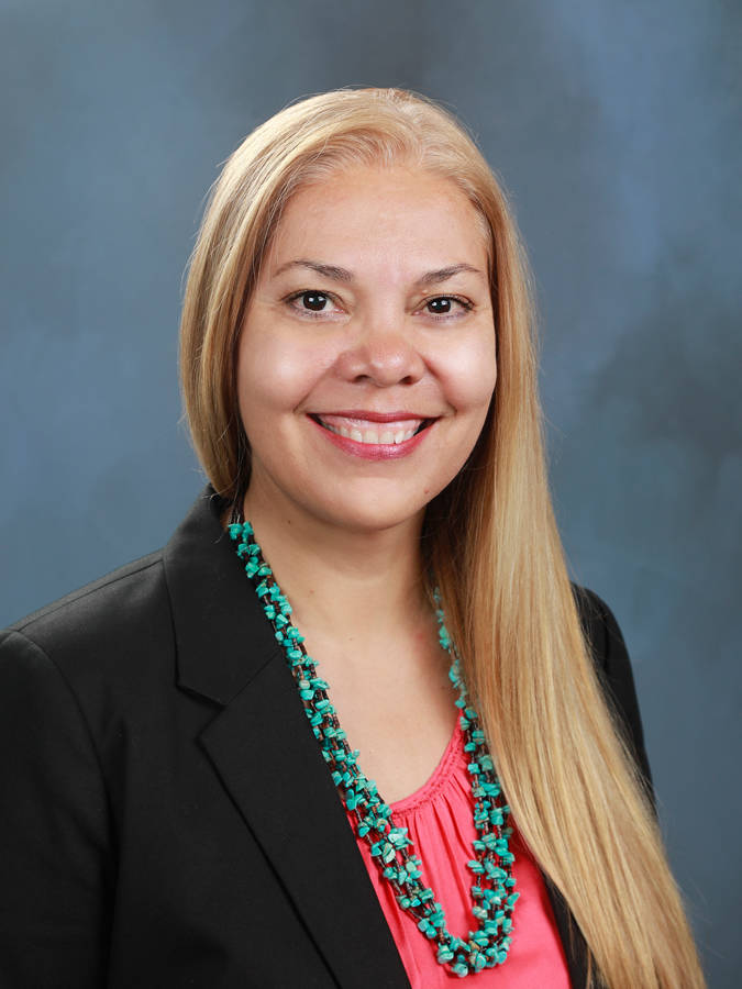 Stacey Montooth, executive director of the Nevada Indian Commission (Stacey Montooth)