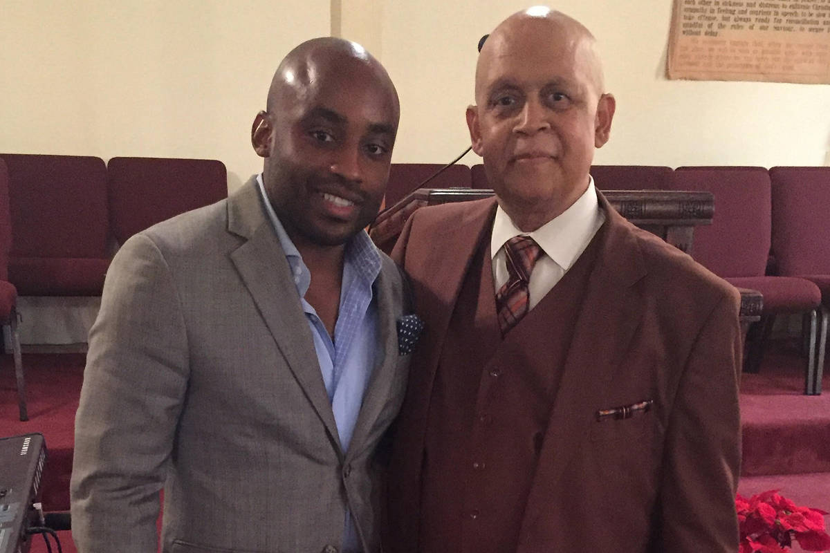 Javon Johnson, director of African American and African Diaspora Studies at UNLV, is shown with ...