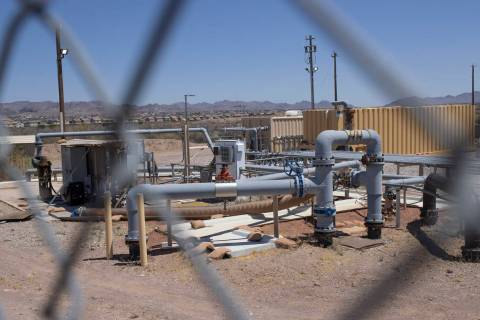 An intercept well at a remediation site in Henderson on Monday, June 22, 2020. The Environmenta ...