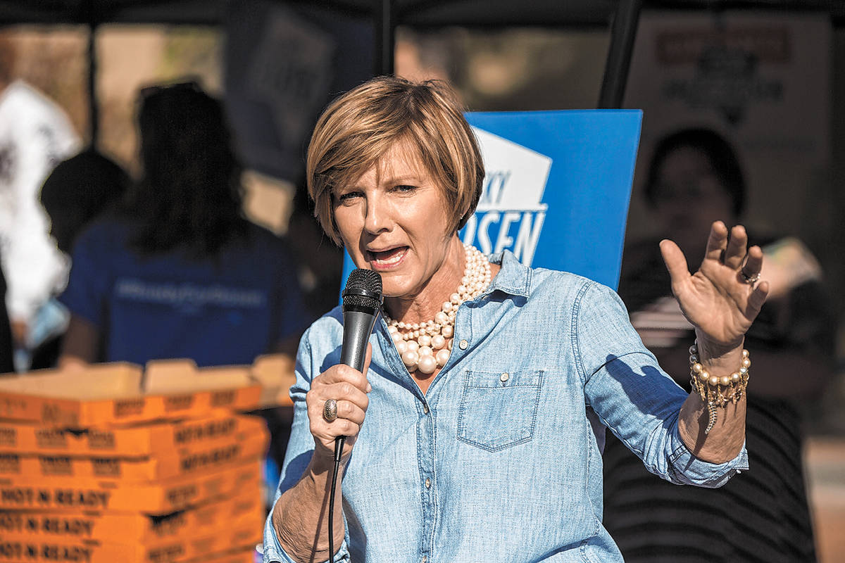 U.S. Rep. Susie Lee (Benjamin Hager / Las Vegas Review-Journal file)