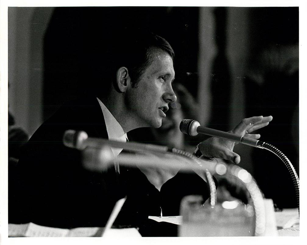 Nevada Gaming Commission Harry Reid last commission meeting (Gary Thompson/Las Vegas Review-Jou ...
