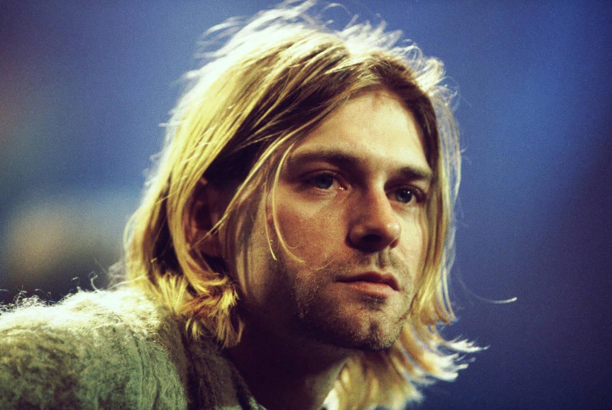 Nirvana singer Kurt Cobain, seen in 1993. (Courtesy)